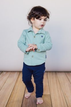 Koszula niemowlęca zielona