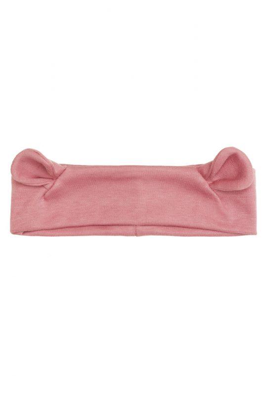Opaska z uszami różowa