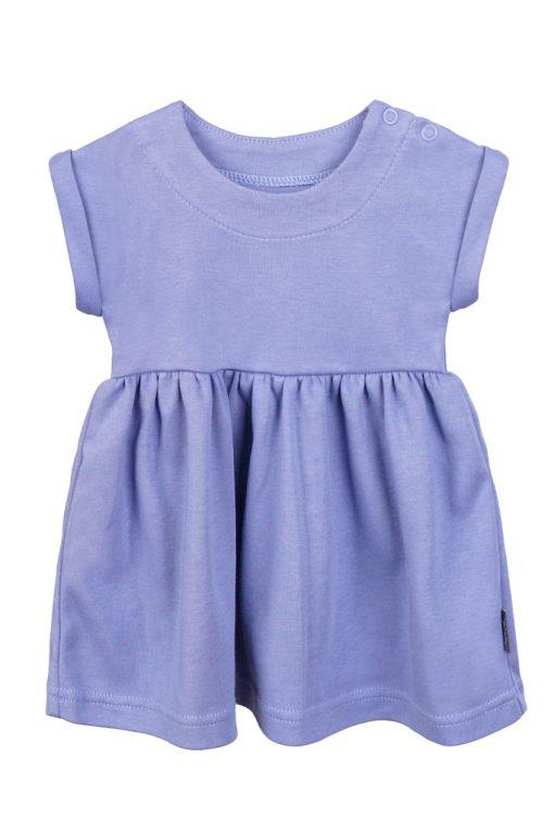 Sukienka z krótkim rękawem niebieska