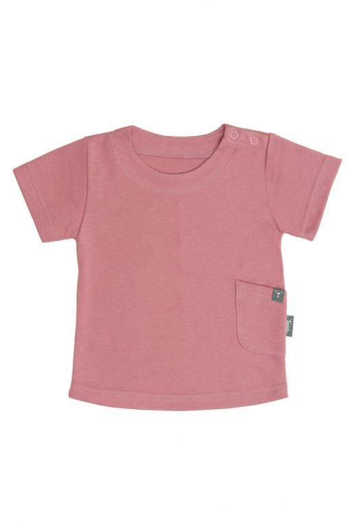 T-shirt różowy