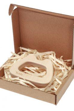 Gryzak klonowy GŁOWA MISIA w pudełku