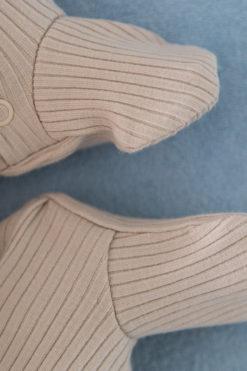 Prążkowany pajacyk stopki