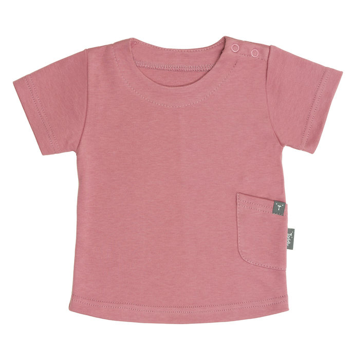 T-shirt niemowlęcy różowy